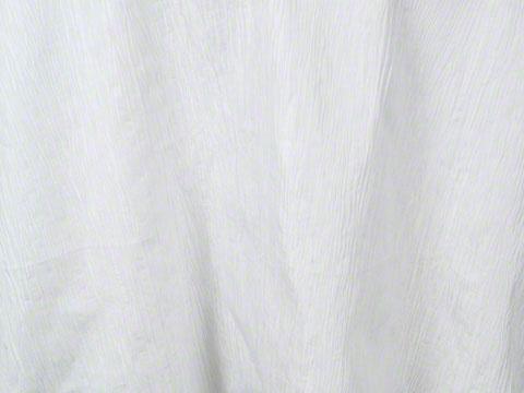 White Tafetta Crinkle