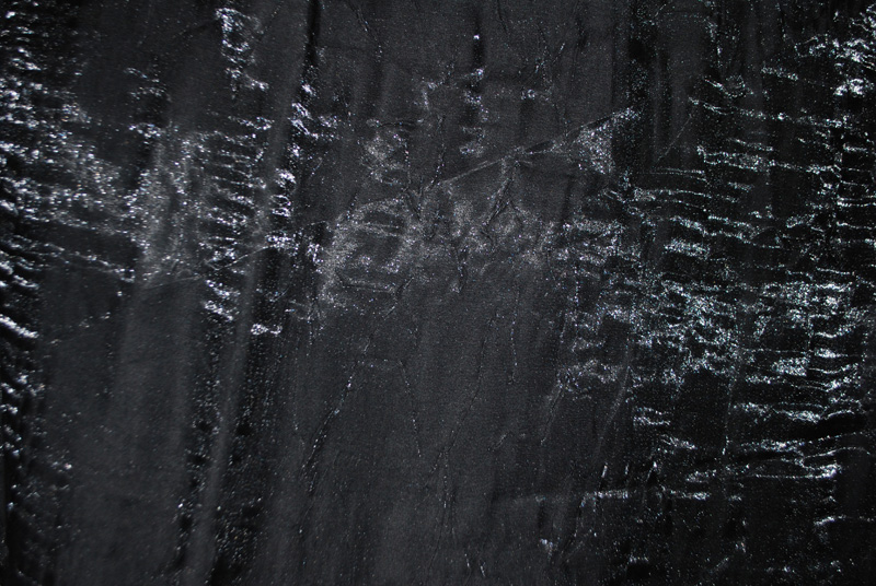 Black Satin Shimmer Crush